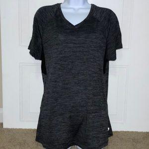 Danskin Now women's gray athletic T-shirt